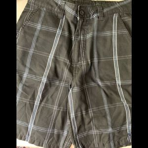 (2 for $20) O'Neill surf shorts black & blue 30